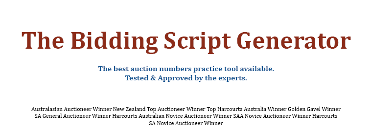 The Bidding Script Generator